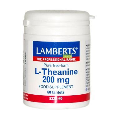 L-Teanina Lamberts es un complemento alimenticio a base de L-Teanina.