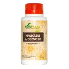 Levadura de Cerveza Soria Natural es un complemento alimenticio a base de Levadura de Cerveza con alto conenido en proteínas e hidratos de carbono.