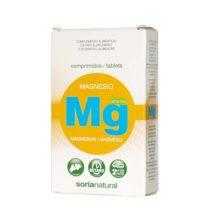 Magnesio Soria Natural MG es un complemento alimenticio a base de Magnesio.El Magnesio contribuye a el funcionamiento normal de los músculos.