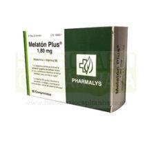 MELATON PLUS PHARMALYS es un complemento alimenticio a base de Melatonina y Vitamina B6.