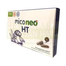 MICONEO HT es un complemento alimenticio a basede hongos medicinales y olivo que ayuda a regularizar la tensión arterial