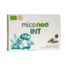 Miconeo INT es un complemento alimenticio a base de extractos de Achicoria ;Shiitake ;Melena de León y Seta de Cardo.