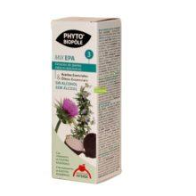 Mix Epa 3 Phyto Bipole es un compelemnto alimenticio a base de Extractos de Plantas frescas y aceites esenciales con beneficios depurativos. Apto para veganos.