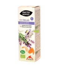 MIX RELAX 1 PHYTO BIPOLE es un complemento alimenticio a base de estracto de plantas frescas biológicas.
