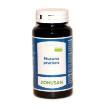 Mucuna Pruriens Bonusan es un complemento alimenticio a base de hierba Grano de Terciopelo ( Mucuna Pruriens extracto puro y estandarizado de frijol mucuna).