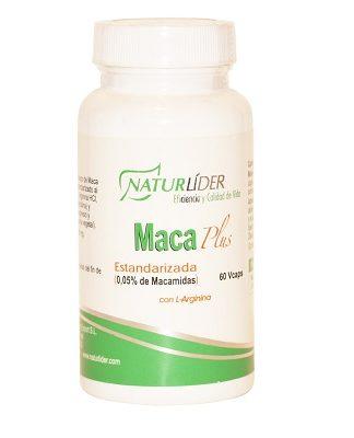 Macalider estandarizada de Naturlider es un complemento alimenticio a base de Maca, planta herbácea natural de los Andes.