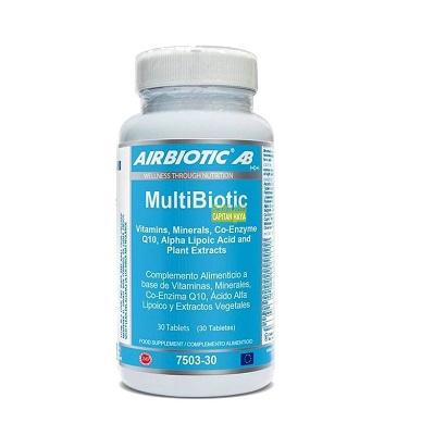 Multibiotic Complex Airbiotic es un complemento alimenticio a base de Vitaminas y Minerales.