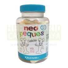 Neo Peques Kalcium de Neovital es un complemento alimenticio para niños, a base de calcio, vitamina K2 y vitamina D3.Libre de Gluten y sin Lácteos. El Calcio, la Vitamina K2 y la Vitamina D3 contribuyen al mantenimiento normal de los huesos.