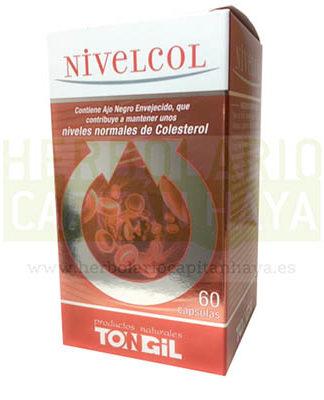 Nivelcol Tongilcontiene ajo negro envejecido, que contribuye a mantener unos niveles normales de colesterol.