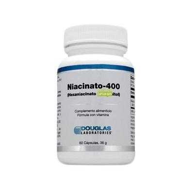 Niacinato Douglas es un complemento alimenticio formulado a base de vitaminas.