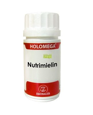 Nutrimielin Holomega Equisalud es un complemento alimenticio a base de Acetil L-carnitina HCL;Fosfatidil L-Serina;Hericium erinaceus;L-isoleucina;L-treonina;Leucina;Valina y Vitamina C.