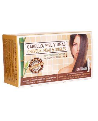 CABELLO PIEL Uí'AS NUTRIORGANS TONGIL  es un complemento alimenticio que ayuda a mantener el cabello, la piel y las uñas en un buen estado de salud.