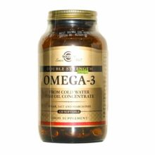 Omega 3 Solgar es un complemento alimenticio a base de aceite de pescado de aguas frías concentrado.