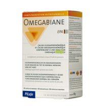 Omegabiane Pileje es un complemento alimenticio a base de aceite de pescado aportando ácido eicosapentaenoico y ácido docosahexaenoico.