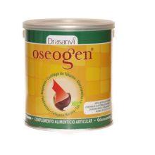 Oseogen Polvo Drasanvi es un complemento alimenticio que contribuye a la formación de colágeno para el funcionamiento normal de cartílagos y huesos.