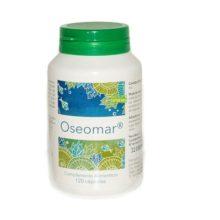 Oseomar Margan es un complemento alimenticio a base de Carbonato cálcico, Alga Klamath, Cartílago de tiburón, Colágeno hidrolizado,Acido hialurónico y Uña de gato.