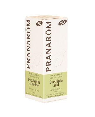 Aceite Esencial Eucalipto Azul Pranarom es un complemento alimenticio a base de Eucaliptus Citriodora que ayuda a aliviar rápidamente un foco inflamatorio grave.