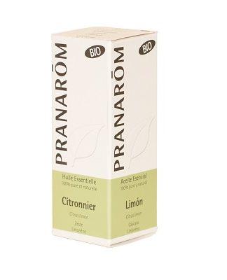 Aceite esencial limón Pranarom es un complemento alimenticio a base de cáscara de limón y moléculas aromáticas de limoneno. Digestivo, antiséptico, anti-flatulento y diurético, así como cicatrizante.