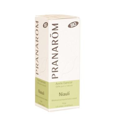Aceite esencial Niauli Pranarom es un complemento alimenticio a base de Niauli que es efectivo en el tratamiento de resfriados, infecciones de vías altas, alteraciones respiratorias, gripes, catarros. Tiene efecto expectorante.
