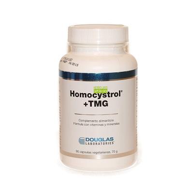 Homocystrol TMG Douglas es un complemento alimenticio que contiene cantidades significativas de vitaminas activadas del grupo B, trimetilglicina (betaína) y colina, elementos necesarios para ayudar a mantener niveles normales de la homocisteína.