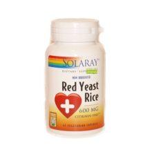 Red Yeast Rice es un complemento alimenticio a base de levadura roja del arroz obtenida de la fermentación de una cepa de levadura en arroz.