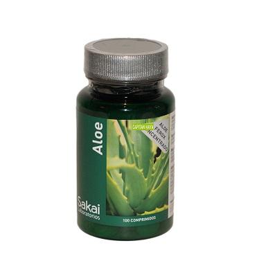Aloe Sakai es un complemento alimenticio a base de jugo concentrado y desecado de Aloe Vera.