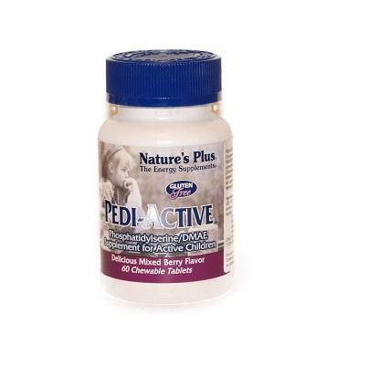 Pedi-Active Nature´s Plus es un complemento alimenticio es una fórmula especialmente indicada para niños hiperactivos.