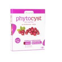 Phytocyst Drasanvi es un complemento alimentico a base de extractos de arándano rojo,fermentos lácticos, vitamina C y ácido fólico.