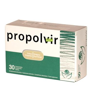 Propolvir Bioserum es un complemento alimenticio combinación de plantas usadas tradicionalmente como apoyo al tratamiento del resfriado común.