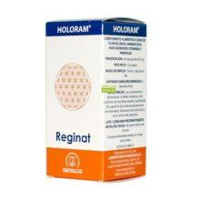 Reginat Holoram Equisalud es un complemento alimenticio a base de plantas, Reishi, Aminoácidos Bioflavonoides, Vitaminas y Minerales.