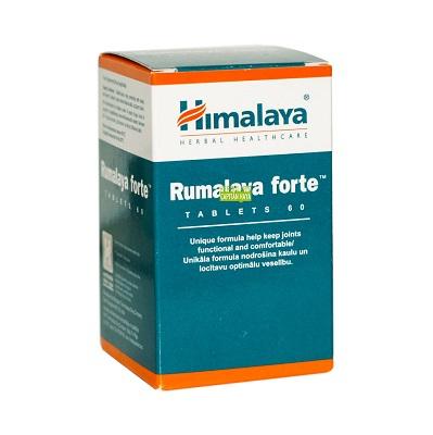 Rumalaya Forte es un complemento alimenticio a base de Shallaki, Guggul, Java galanga, Regaliz, Cebos pequeños, Gulancha Tinospora.
