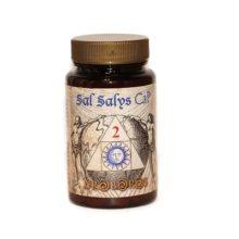 Sal Salys 02 CaP es un complemento alimenticio ca base de fosfato de calcio;una de las llamadas Sales de Schüssler.