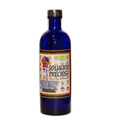 Solución Preciosa Artesania es un complemento alimenticio indicado en estados carenciales, cansancio, cambios estacionales, falta de concentración, estrés, dietas adelgazantes.