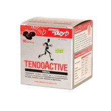 Tendoactive es un complemento alimenticio a base de colágeno Tipo I, mucopolisacáridos, Vitamna C y Magnesio.