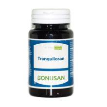 Tranquilosan Bonusan es un complemento alimenticio a base de una combinación que contiene las hierbas calmantes hop y valeriana,combinado con vitaminas,ácido fólico y colina.