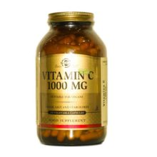 VITAMINA C SOLGAR 1000mg.Vitamina C Solgar 1000mg. es un complemento alimenticio a base de Vitamina C como ácido L- Ascórbico.