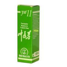 Yap 11 Equisalud es un complemento alimenticio para el exceso de fuego de hígado.