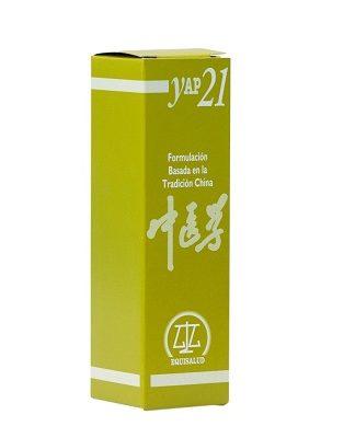 Yap21 Equisalud ruptura ó disarmonía Fuego (c) -Agua (Xin Shen Bu Jiao) es un complemento alimenticio a base de Azahar; Bolsa de Pastor; Diente de León; Melisa; Menta;Romero;Trébol de Agua y Valeriana.