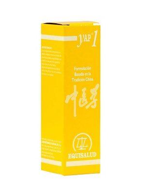 Yap1 Vacio de Qi Qi Xu Equisalud es un complemento alimenticio a base de Angélica,Espliego o Lavanda,Genciana, Ginseng,Regaliz,Romero y Salvia.