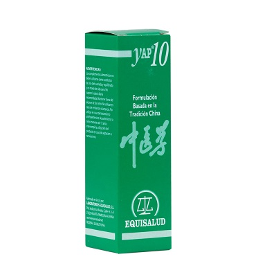Yap 10 Equisalud es un complemento alimenticio útil en el estancamiento de Qi de higado.