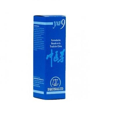 YAP 9 EQUISALUDYap 9 Equisalud es un complemento alimenticio útil para menopausia. Vacío de ying de hígado-riñón.