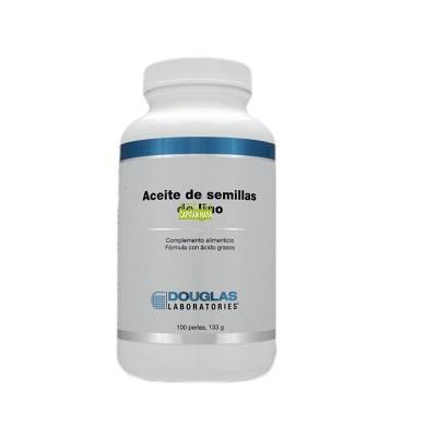 Aceite de Semillas de Lino Douglas es un complemento alimenticio a base de aceite de semillas de lino.