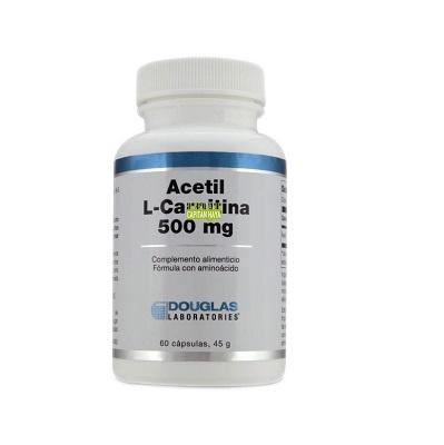Acetil-L-Carnitina Douglas es un complemento alimenticio a base de acetil L-carnitina HCl puro.