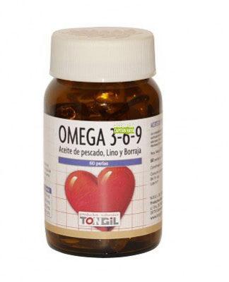 Omega 3-6-9 Tongil es un suplemento que aporta ácidos grasos Omega 3-6-9. Los ácidos grasos Omeha 3-6-9 juegan un papel importante en beneficio de la salud cardiovascular de las personas y enfermedades inflamatorias.