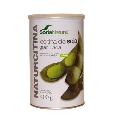 Naturcitina Soria Natural es un complemento alimentico a base de Lecitina de soja de rápida absorción y gran valor energético.