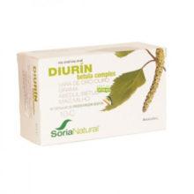 DIURIN BETULA COMPLEX SORIA NATURAL es un complemento alimenticio a base de Vara de Oro, Abedul y Maíz que ayuda al organismo a eliminar toxinas.