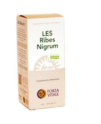 LES RIBES NIGRUM FORZA VITALELES Ribes Nigrum de Forza Vitale es un complemento alimenticio de yemoderivados de Grosellero negro.