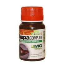 Hepa complex plus MGdose es un complemento alimentico recomendado en situaciones de sobrecarga tóxica del hígado, en las curas primaverales de depuración hepática y como depurativo drenador de las vías respiratorias. Contiene elementos precursores del glutatión, un potente antioxidante.