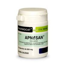 Apnesan Fharmocat es un complemento alimenticio a base de aminoácidos que favorece la respiración durante las horas de sueño y mejora la atención durante el día.