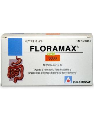 Floramax 6000 Fharmocat es un complemento alimenticio que actúa como suplemento prebiótico para la flora bacteriana y que ayuda a reforzar la flora intestinal y fortalece las defensas naturales del organismo.